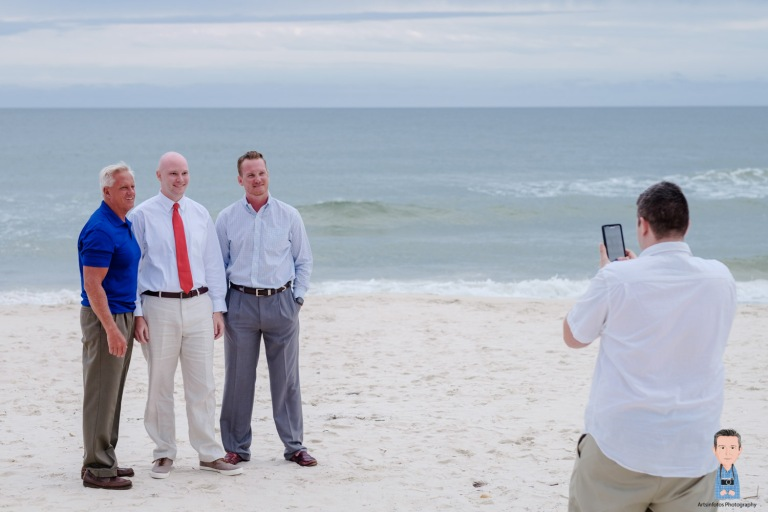 St George island beach wedding 032