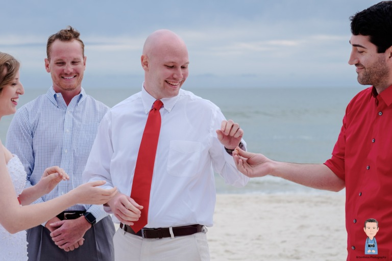 St George island beach wedding 037