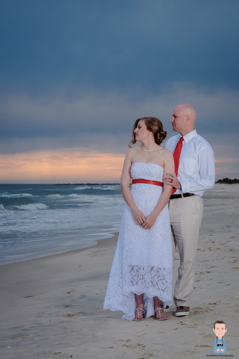 St George island beach wedding 050