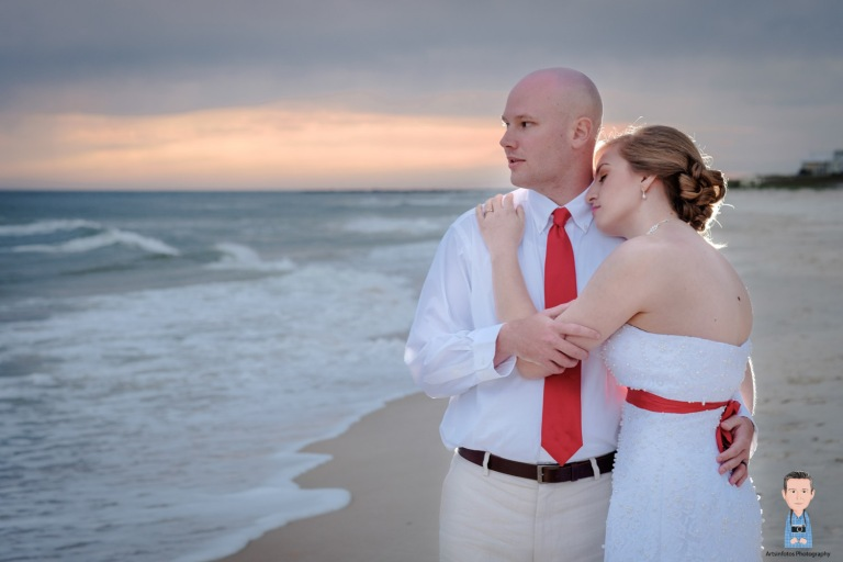 St George island beach wedding 052